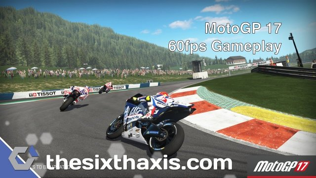 MotoGP 17 60fps Gameplay