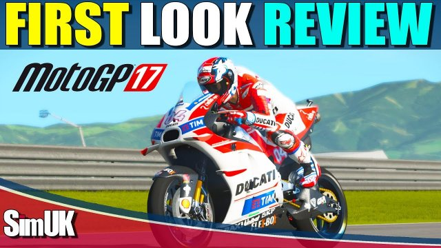 MotoGP 17 First Look Gameplay Review | PC XBOX1 PS4 | Is it Even Better than Ride 2?