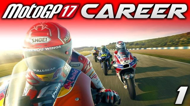 MotoGP 17 Career Mode #1: Red Bull Rookies Cup! (Rider Career Mode Gameplay)