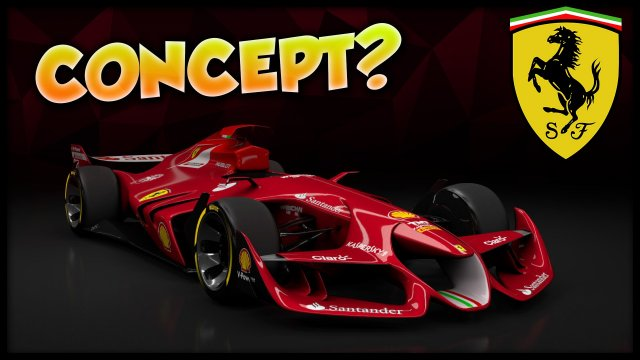 Assetto Corsa: Ferrari F1 Concept Car of the Future