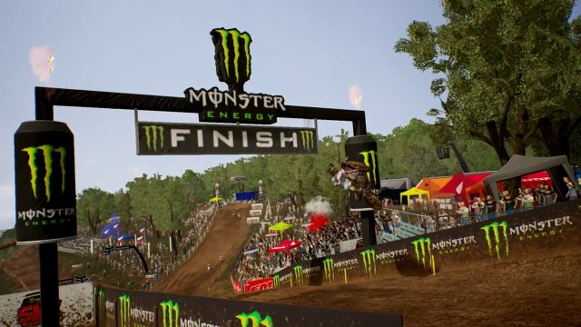 MXGP 3 Motocross Game (Loket Czech Republic. Race 1&2 Yamaha Febvre 450cc) 2 Camera Views
