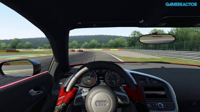 Assetto Corsa - PS4 Alpha Gameplay - Audi R8 Race at Spa Francorchamps