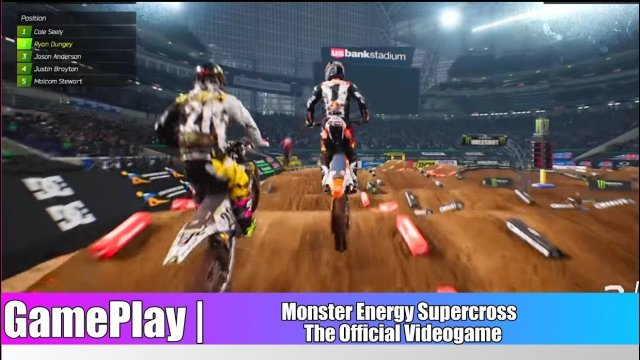 Supercross - The Official videogame - Gameplay Ryan dungey 2018