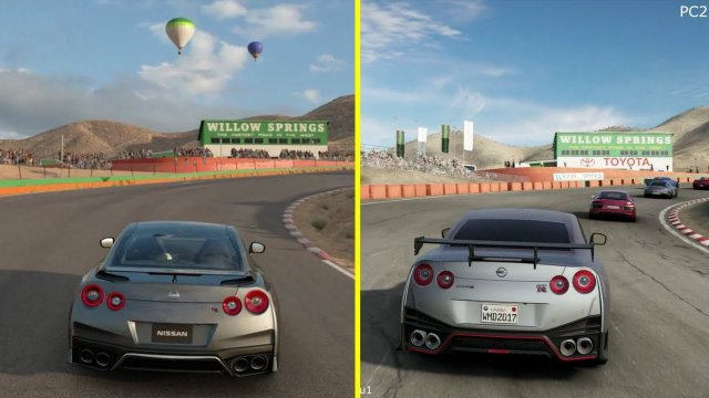 Gran Turismo Sport vs Project CARS 2 PS4 Pro Graphics Comparison