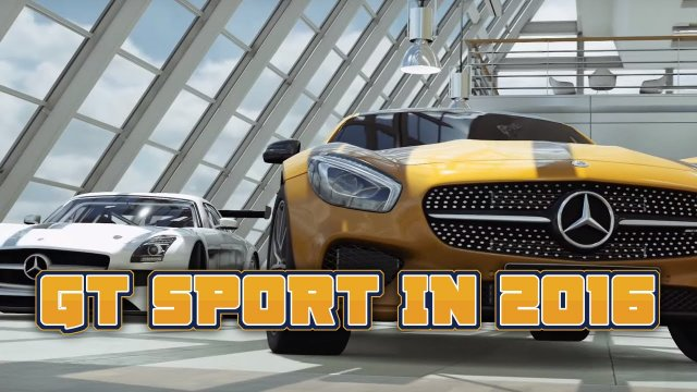 GT Sport Coming To PS4 In 2016