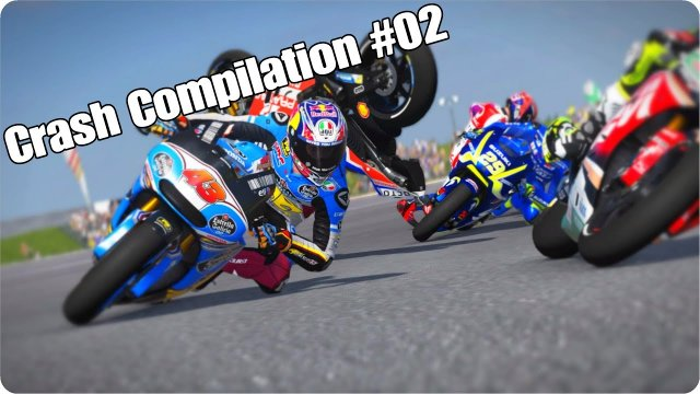 MotoGP 17 Crash Compilation #02