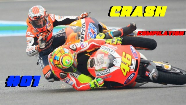 MotoGP 17 Best Crash Compilation #01
