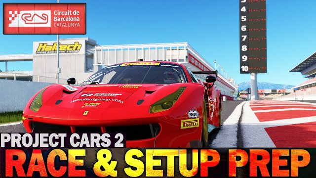 Project Cars 2 - Setup and Race Preperation