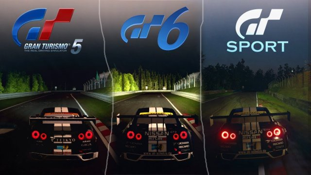 GT5 VS GT6 VS GT SPORT [Sound & Graphics Comparison] - Nürburgring Day/Night