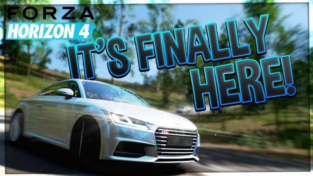 Finally Here! | Forza Horizon 4 | #1