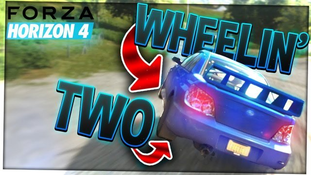 Two Wheeling! | Forza Horizon 4 | #2