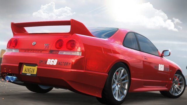 Driving The Speed Factory RGO Demo Skyline R33 From Wangan Midnight