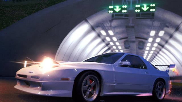 Driving The ZERO rx7 FC3S From Wangan Midnight Forza Horizon 4