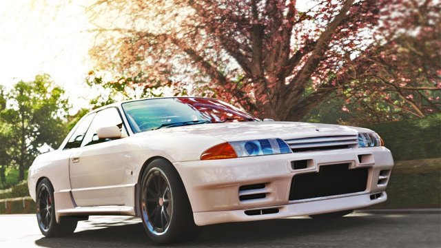 Driving Reina's R32 Skyline GTR From Wangan Midnight Forza Horizon 4