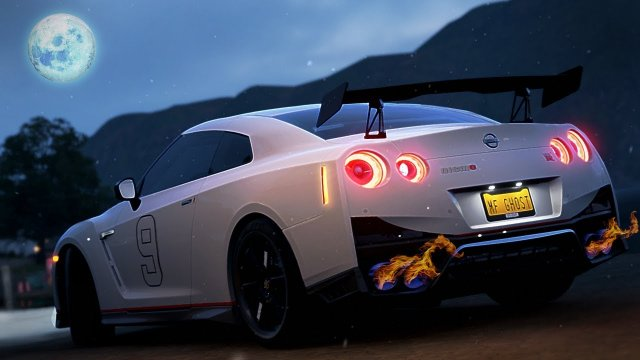 Driving Shun Aiba's GTR Nismo R35 From MF Ghost Forza Horizon 4