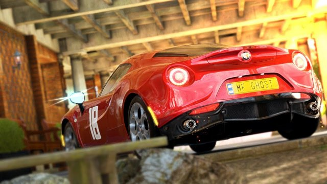 Driving Nozomi Kitahara's Alfa Romeo 4C Competizione From MF Ghost Forza Horizon 4
