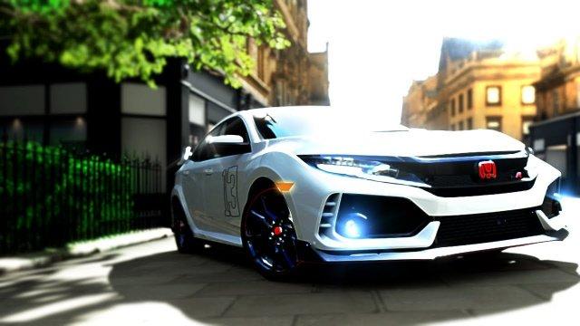 Driving Kazuhiro Maezono's Type R Honda Civic FK8 From MF Ghost Forza Horizon 4