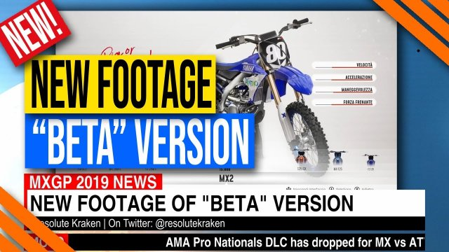 "MXGP 2019 Game | New Gameplay Footage of ""Beta"" Version"