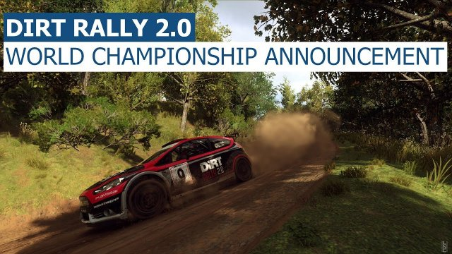 Dirt Rally 2.0 World Championship Announcement