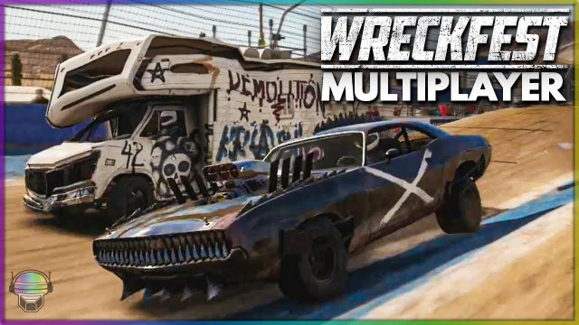 EPIC WRECKFEST CONSOLE MULTIPLAYER FIRST RACES!