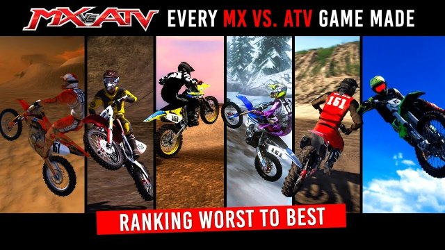 Every MX vs ATV Game + Ranking From Worst to Best