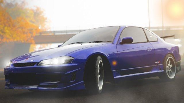 Drifting Okuyama's Silvia S15 From Initial D Forza Horizon 4
