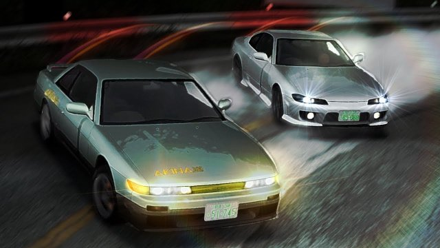Racing Iketani In His Silvia S13 At Akina Downhill Initial D 8 English #11