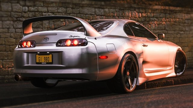 Driving Keiichiro's Supra RZ From Wangan Midnight Forza Horizon 4