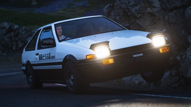 Driving Takumi's Toyota AE86 From Initial D Forza Horizon 4