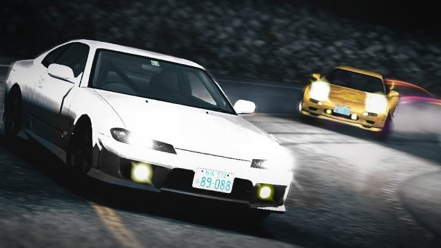 Simulation 3 Keisuke Rematch In His RX7 At Akagi Uphill Initial D 8 English #23