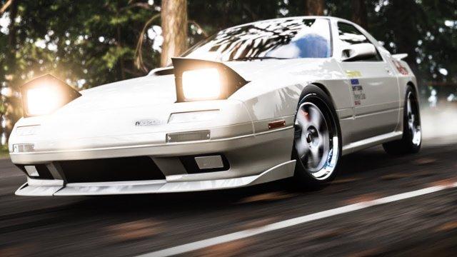 Driving Ryosuke's Mazda RX7 From Initial D Forza Horizon 4