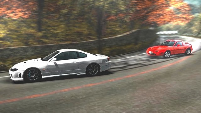 Toru Rematch In His Mazda Miata At Momiji Line Downhill Initial D 8 English #28