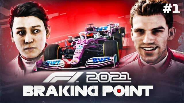 F1 2021 Braking Point Story Mode Part 1: Meet Aiden Jackson