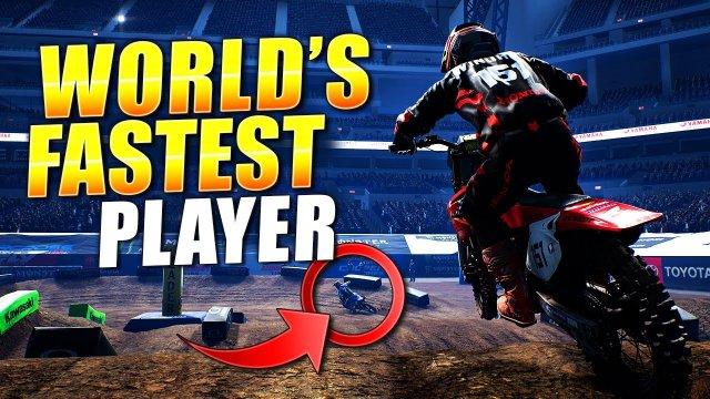 Racing The World's Fastest Player On Five Tracks - Monster Energy Supercross 4
