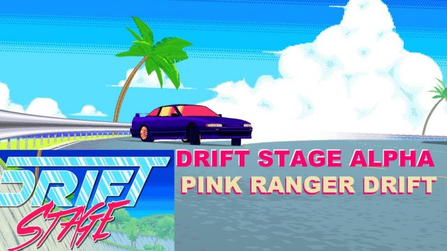 PC - DRIFT STAGE ALPHA TEST - PINK RANGER DRIFT