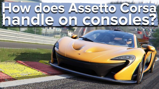 How does Assetto Corsa handle on consoles? PS4 gameplay.