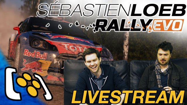 Sébastien Loeb Rally Evo Gameplay - Dave & Tom Do Rally