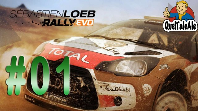 Sébastien Loeb Rally EVO - Gameplay ITA - Logitech G27 - Carriera #01 - Nuovo Team Kamikaze