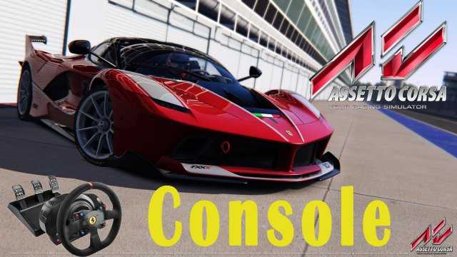 Assetto Corsa Console - Gameplay Playstation 4 [Ps4] - Ferrari FXXK - Barcellona [Thrustmaster T300]