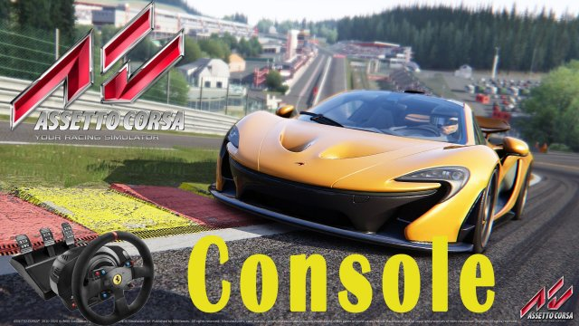 Assetto Corsa Console - Gameplay Playstation 4 [Ps4] - McLaren P1 - SPA [Thrustmaster T300]