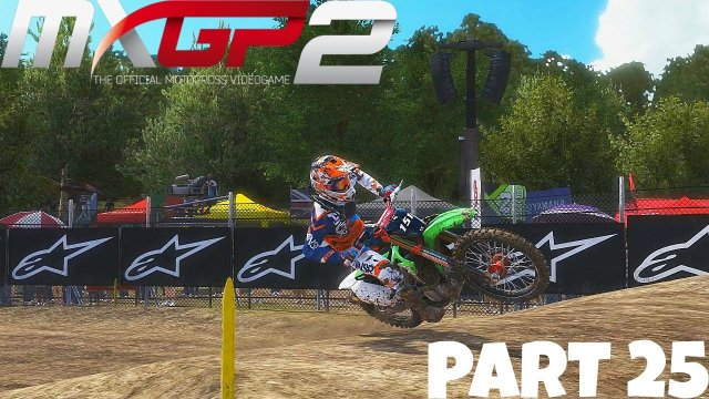 MXGP 2 - The Official Motocross Videogame! - Gameplay/Walkthrough - Part 25 - Broken Neck!