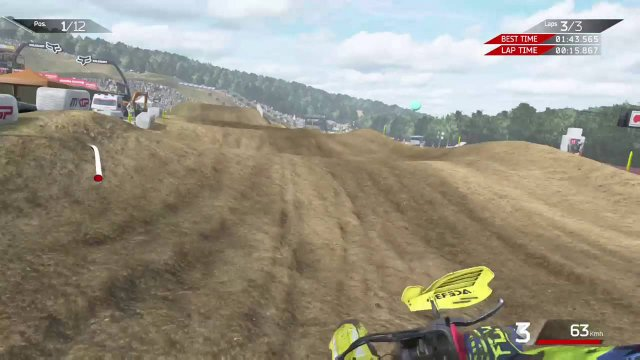 MXGP2: Online Race with B// RMZ450
