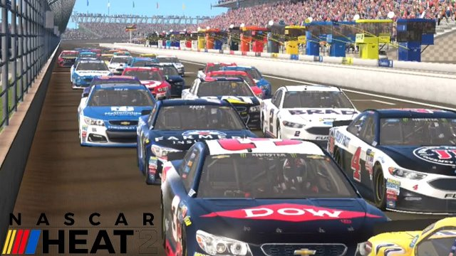NASCAR Heat 2 is coming Sept 12, 2017