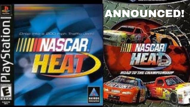 NASCAR HEAT 2 ANNOUNCED!!!